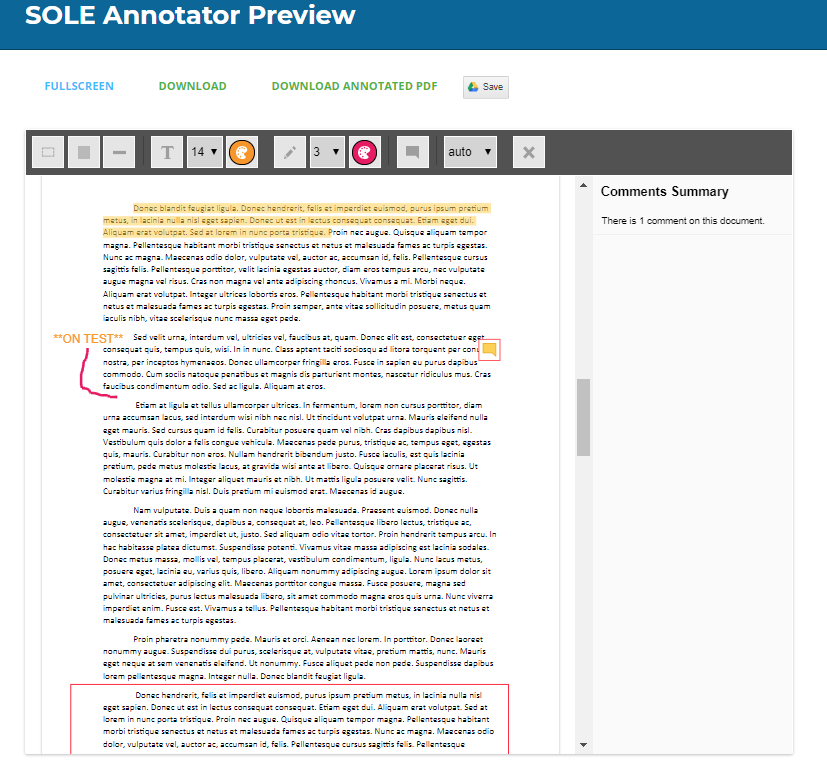SOLE Annotator Preview